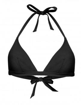 The black triangle bikini top